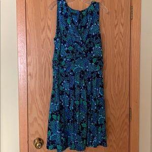 Talbots sleeveless dress. Size 14